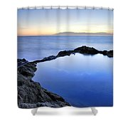 Cabo De Gata Shower Curtain
