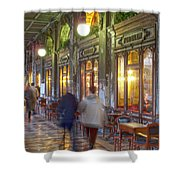 Caffe Florian Arcade Shower Curtain