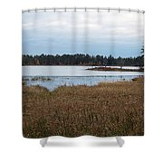 Calm Water Shower Curtain
