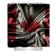 Canadian Flag  Shower Curtain
