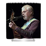 Canadian Folk Rocker Bruce Cockburn Shower Curtain