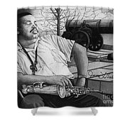 Jazz Cannonball Adderly Shower Curtain