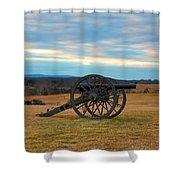 Cannons Of Manassas Battlefield Shower Curtain