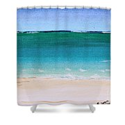 Ocean Turquoise Waters Shower Curtain