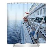 Carnival Elation Shower Curtain