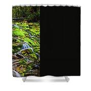 Cascading Waterfall Shower Curtain