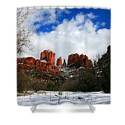 Cathedral Chill Shower Curtain