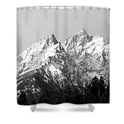 Cathedral Group Grand Teton National Shower Curtain