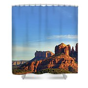 Cathedral Rocks In Sedona Shower Curtain