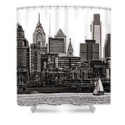 Center City Philadelphia Shower Curtain