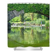 Central Park Gapstow Bridge II Shower Curtain