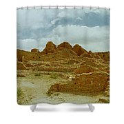 Chaco Canyon Shower Curtain