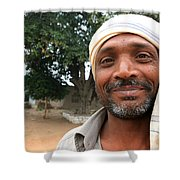 Chanderi Man Shower Curtain