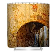 Chania Alley Shower Curtain