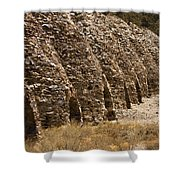 Death Valley Charcoal Kilns Shower Curtain