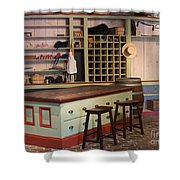 Charles Lohman's General Store Shower Curtain