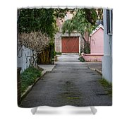 Charleston Alley Shower Curtain