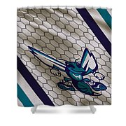 Charlotte Hornets Uniform Shower Curtain