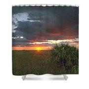 Chekili Sunset Shower Curtain