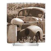 Chevrolet Rust Bucket Shower Curtain