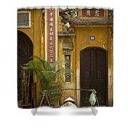 Chinese Temple In Hanoi Vietnam Shower Curtain