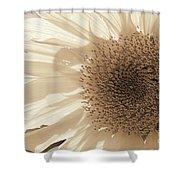 Chipmunk's Peredovik Sunflower Shower Curtain