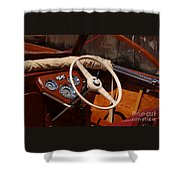 Chris Craft Sea Skiff Shower Curtain