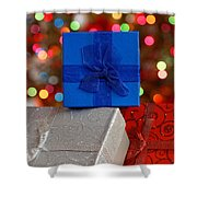Christmas Gifts Shower Curtain