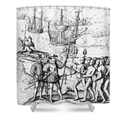 Christopher Columbus (1451-1506) Shower Curtain