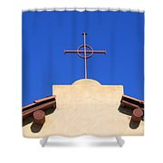 Church Cross Shower Curtain