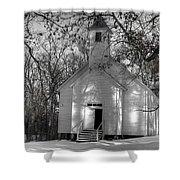 Church In The Cove Shower Curtain