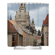 Church Of Our Lady  -  Dresden - Germany Shower Curtain