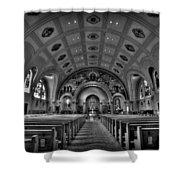 Church Of Saint Bernard Shower Curtain