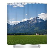 Church Of Saint John In Spring Shower Curtain