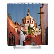 Church Of San Rafael Shower Curtain