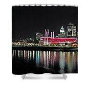 Cincinnati Skyline 3 Shower Curtain