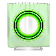 Circle Motif 145 Shower Curtain