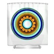 Circle Motif 214 Shower Curtain