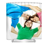 Circle Of Best Friends Shower Curtain