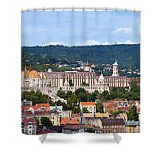 City Of Budapest Shower Curtain