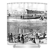 Civil War Hospital Shower Curtain