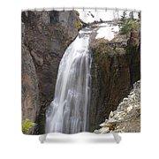 Clear Creek Falls Shower Curtain