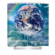 Climate Change- Shower Curtain