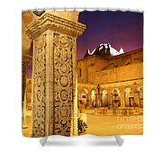 Cloisters At Sunset Arequipa Shower Curtain