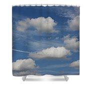 Cloudscape Shower Curtain