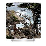 Coast Of California Shower Curtain