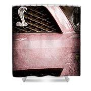Cobra Grille Emblem Shower Curtain