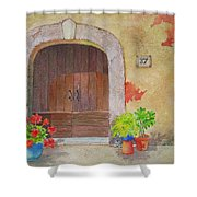 Color Me Tuscany Shower Curtain