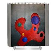 Color Pallette Shower Curtain
