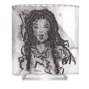 Colorful Beauty Shower Curtain